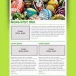Easter Newsletter Template