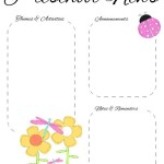 May Newsletter Template